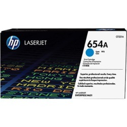 HP 654A CF331A Cyan Toner Cartridge found on Bargain Bro UK from internet ink