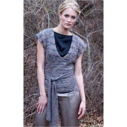 Koko Wrap Top Knitting Pattern Download found on MODAPINS from Interweave Store for USD $6.00