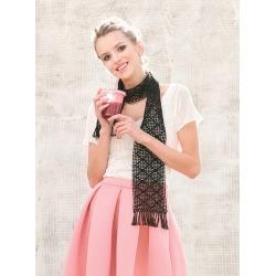 Diamond Filet Scarf Crochet Pattern Download