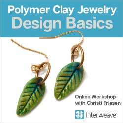Polymer Clay Jewelry: Design Basics Online Workshop with Christi Friesen found on Bargain Bro from Interweave Store for USD $7.59