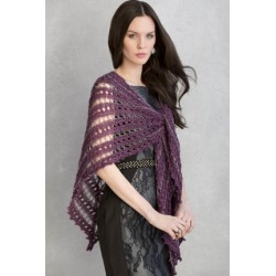 Teresa Shawl in Crystal and Tivoli Knitting Pattern Download found on Bargain Bro from Interweave Store for USD $4.56