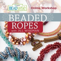 Beaded Ropes Online Workshop with Jill Wiseman found on Bargain Bro from Interweave Store for USD $15.19