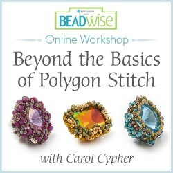 Beyond the Basics of Polygon Stitch with Carol Cypher Online Workshop found on Bargain Bro from Interweave Store for USD $22.79