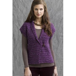 Sierra Vest in Donegal Tweed Knitting Pattern Download found on Bargain Bro Philippines from Interweave Store for $6.00