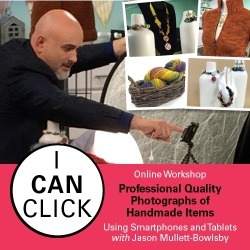 iCan Click with Jason Mullett-Bowlsby found on Bargain Bro from Interweave Store for USD $37.99
