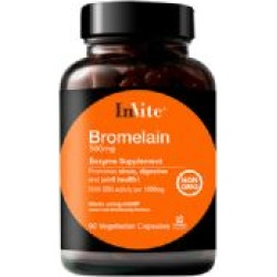 Bromelain Supplement found on Bargain Bro Philippines from Invite Health, Inc. for $21.56
