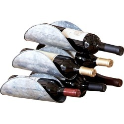 Wine Rack Iron 6 Bottle #15533