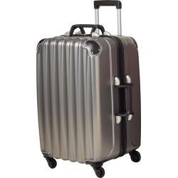 VinGarde Valise Grande Wine Luggage with TSA Lock Silver NEW #30379