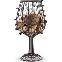 Cork Cage Wine Glass #91-044