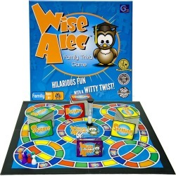 Griddly Games Wise Alec Family Trivia Game