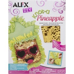 Alex Knot A Pillow Sequins Pineapple found on Bargain Bro from JOANN Stores for USD $11.39