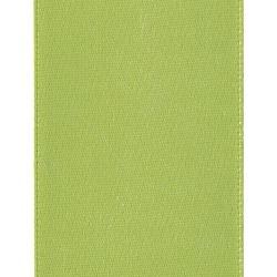 "Offray 1.5""x21' Single Faced Satin Ribbon - Lemon Grass"