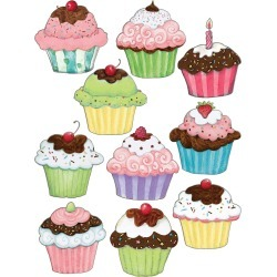 Susan Winget Cupcake Accents 30 pk, Set of 6 Packs