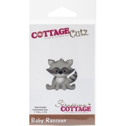 CottageCutz Baby Raccoon Die