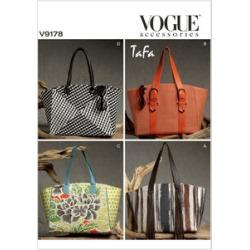 Vogue Patterns Crafts Totes & Bags - V9178