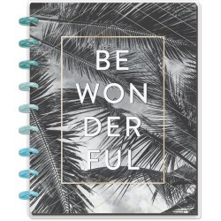 The Happy Planner Happy Notes 60 sheet Notebook Be Wonderful
