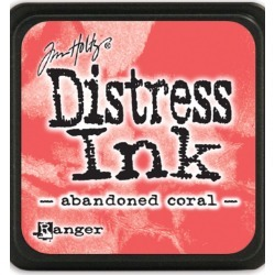 Ranger Tim Holtz Distress Mini Ink Pads - Abandoned Coral found on Bargain Bro India from JOANN Stores for $3.49