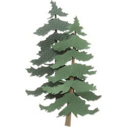 Jolee's By You - Pine Trees - Paper Crafting - Scrapbook Supplies - Embellishments
