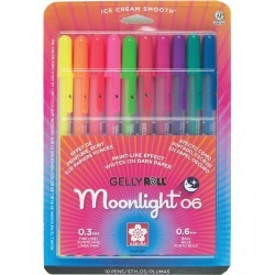 10 Pkg Gelly Roll Moonlight found on Bargain Bro Philippines from JOANN Stores for $16.99