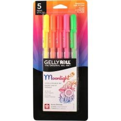 Sakura Gelly Roll Moonlight Pen Set 5 Colors Dawn