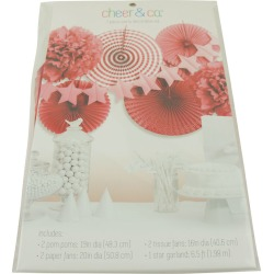 Cheer & Co. Party Decoration Kit Red found on Bargain Bro Philippines from JOANN Stores for $21.99