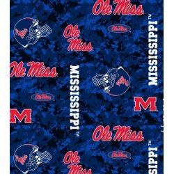 University of Mississippi Rebels Fleece Fabric Digital Camouflage - 2 Yrds Min found on Bargain Bro Philippines from JOANN Stores for $7.49