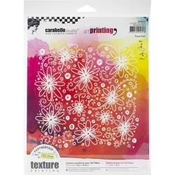 Carabelle Studio Art Printing Square Rubber Texture Plate Flower Field found on Bargain Bro Philippines from JOANN Stores for $12.59
