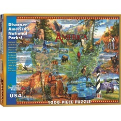 White Mountain Puzzles Jigsaw Puzzle National Parks found on Bargain Bro India from JOANN Stores for $24.99