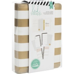 Heidi Swapp Personal Memory Planner Gold Foil Stripe found on Bargain Bro from JOANN Stores for USD $20.74