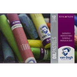 Van Gogh Oil Pastels Set 12 Pkg General Selection