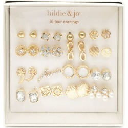 hildie & jo 16 - pair Gold Earrings 2