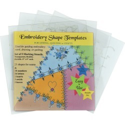 Creative Impressions Embroidery Shape Template Set 5pk found on Bargain Bro Philippines from JOANN Stores for $23.99