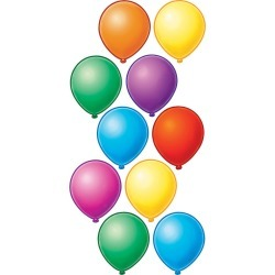 Balloons Accents 30 pk, Set Of 6 Packs