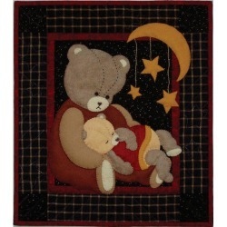 "Baby Bear Wall Quilt Kit - 13""X15"""