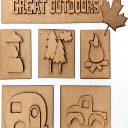 Foundations Decor Great Outdoors Shadow Box Kit found on Bargain Bro India from JOANN Stores for $12.74