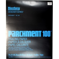 Bienfang Parchment 100 Tracing Paper Pad 50 Sheets - 19inch X 24inch found on Bargain Bro India from JOANN Stores for $29.99