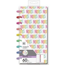 The Happy Planner Classic Half Sheet Notebook Notes