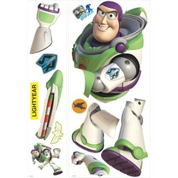 York Wallcoverings Wall Decals Toy Story Buzz