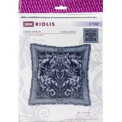 RIOLIS 14 count Counted Cross Stitch Cushion Panel Kit Spanish Lace