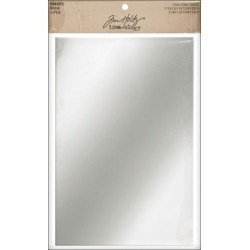 "Idea - Ology Adhesive Backed Mirrored Sheets 6"" x 9"" 2/Pkg - Paper Crafting - Our Favorite Brands - Tim Holtz"