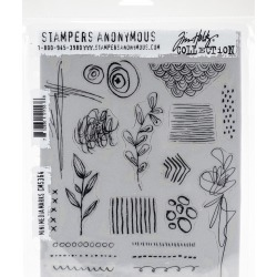 Tim Holtz Cling Stamps 7