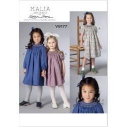 Vogue Patterns Child Dress - V9177