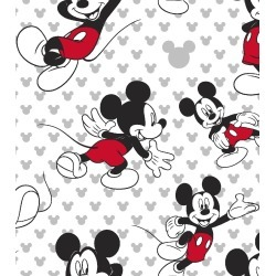 Disney Mickey Mouse Cotton Fabric Totally Mickey Toss - 2 Yrds Min found on Bargain Bro Philippines from JOANN Stores for $8.99