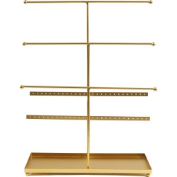 hildie & jo Necklace Display Stand - Gold found on Bargain Bro from JOANN Stores for USD $18.99