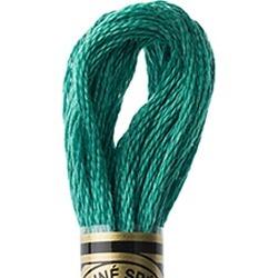 DMC Cotton Embroidery Floss Group #3 Greens - 3850 Dark Bright Green