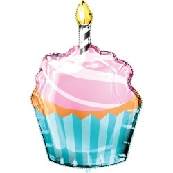 Cupcake Mylar Balloon with Ribbon found on Bargain Bro Philippines from JOANN Stores for $9.99