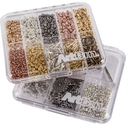 Slim Line Box 10 Compartments 4x4 found on Bargain Bro Philippines from JOANN Stores for $6.99