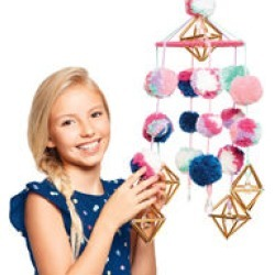 Make It Real Pom Pom Mobile Kit