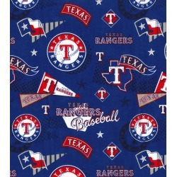 Texas Rangers Cotton Fabric Vintage - 2 Yrds Min found on Bargain Bro Philippines from JOANN Stores for $8.99
