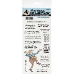 Art Impressions Laugh Lines Stamp Dance It Out found on Bargain Bro Philippines from JOANN Stores for $11.89